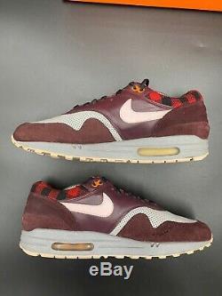 Nike Air Max Prime Flanelle Gris Pack Bourgogne Rouge Rose Noir 309717-061 10