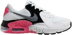 Nike Air Max Wmns Excee Blanc Gris Noir Rose Femmes Chaussures Casual Cd5432-100