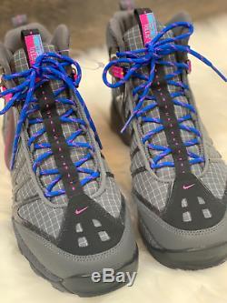 Nike Air Zoom Tallac Mens 12 Lite Og Chaussures De Randonnée Acg (gris / Noir / Rose) 844018-004