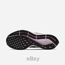 Nike Air Zoom Wmns Pegasus 35 942855-011 Femmes Chaussures De Course Gris / Noir-rose