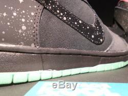 Nike Dunk Haute Premium Sb Northern Lights Gris Noir Rose Menthe 313171-063 8,5