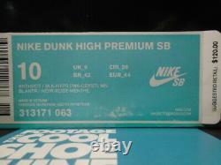 Nike Dunk High Premium Sb Northern Lights Grey Black Pink Mint 313171-063 10