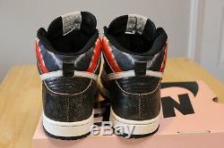 Nike Dunk High Pro Sb Huf Blanc Neutre Gris Noir 305050 102 Taille 10 Boîte Rose