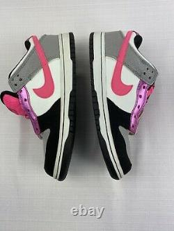 Nike Femme Taille 7 Sb Dunk Low 6.0 Fat Tongue Pink Gray Black Mens 5.5 2009