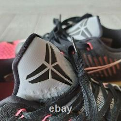 Nike Kobe Elite X 10 Low Mambacurial 2015 Rose Gris Noir 7447212-010 Sz 9,5