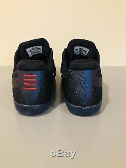 Nike Kobe XI 11 Invisibility Cape Sz 10.5 Black Wolf Gris Rose Blast 836183-005