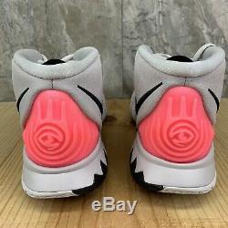 Nike Kyrie 6 VI Taille 9.5 Gris Soar Vastes Chaussures De Basket-ball Noir Rose Numérique
