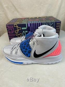 Nike Kyrie Irving 6 Ep VI Vaste Gris / Soar / Numérique Rose / Noir Bq4630-003 Taille 13