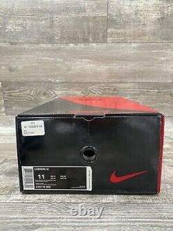 Nike Lebron 11 XI Miami Nights Noir Graphite Gris Argent Rose 616175-003 Sz 11