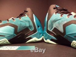Nike Lebron XI 11 South Beach Turquoise Vert Noir Rose Gris Mint 616175-330 14