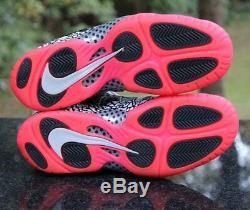 Nike Little Posite Pro Gs Éléphant Rose 644792-002 Gris Noir Taille 7a Wmns 8.5