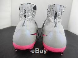 Nike Mercurial Superfly Fg Loup Gris-noir-hyper Rose Sz 12 641858-060