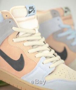 Nike Sb Dunk High Pro Pâques Particules Gris / Noir Terre Fard À Joues Nouveau 9,5