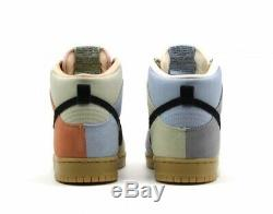 Nike Sb Dunk High Pro Pâques Particules Gris / Noir Terre Fard À Joues Nouveau-nous 8
