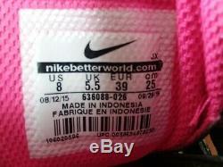 Nike Shox Nz 636088 026 Noir / Gris Rose Pt8 Authentique