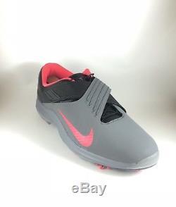 Nike X Tiger Woods Tw 17 Chaussures De Golf Gris Rose Punch Noir Sz 13 Hommes 880955-003