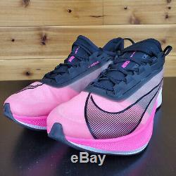 Nike Zoom Fly 3 Rose Explosion Noir Gris Vaporweave Hommes Chaussures De Course At8240-600
