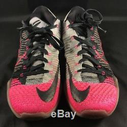 Nike Zoom Kobe X 10 Elite 2015 Basse Mambacuriale Noir Gris Rose 10.5 747212 010