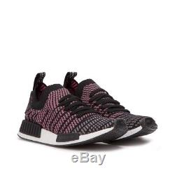 Nouveau Adidas Nmd R1 Stlt Pk Chaussures Hommes Core Noir Gris Solaire Cq2386 Boost