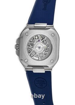 Nouveau Bell & Ross Br 05 (40 Mm) Cadran Bleu Acier Montres Hommes Br05a-blu-st/srb