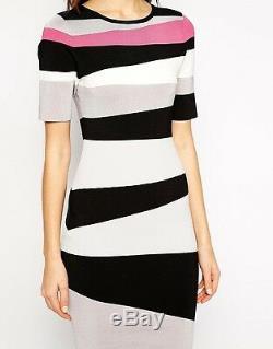Nouveau Karen Millen Stripe Bnwt £ 160