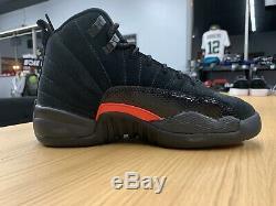 Nouveau Nike Air Jordan 12 XII Retro Noir Gris Foncé Rush Rose 510815-006