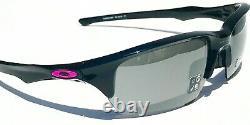 Nouveau! Oakley Flak Beta Noir -breast Rose Cancer Avec Prizm Gris Lens Sunglass 9363