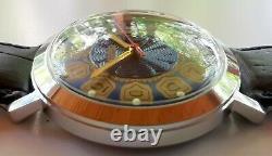 Nouveau Vieux Stock Vostok Ussr Fabriqué 2414 Montre De Luxe Vintage Rare