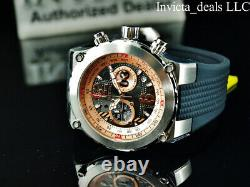 Nouvelle Montre Aviator Airlift 50mm Pour Homme Avita Rose Dial Silver Tone Watch