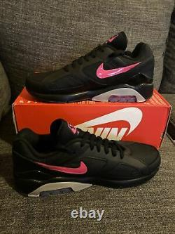 Nouvelle Nike Air Max 180 Blink Black Pink Wolf Grey Blast Size 9.5 Aq9974-001