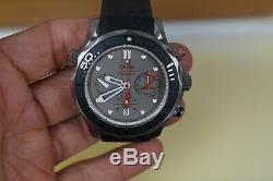 Omega Seamaster Diver 300m Limitée Etnz Chronographe Gris Titane Cadran Noir