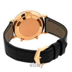 Patek Philippe 18k Rose Gold Calatrava Dual Travel Time 5034r Box Garantie 5034