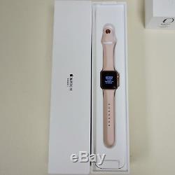 Pour Pièces Gps Apple Watch Sport Series 3 Uniquement Noir / Rose / Gris Icloud