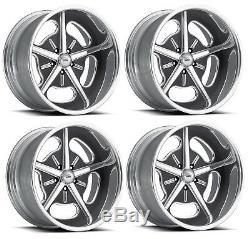Pro Wheels Hot Rod 19, Roues De Billettes En Aluminium Poli, Jantes En Aluminium Forgé