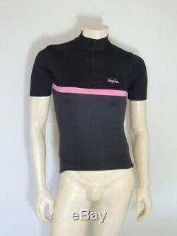Rapha Jersey Club Homme Noir Rose Gris Taille Small