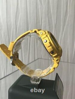 Rare Casio G-shock G-6900a Gw-6900a Yellow Solar Limited 100% Authentique Dw6900