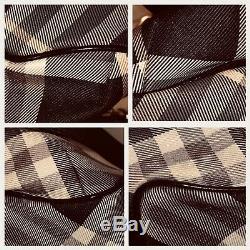 Reducedrare Burberry Blue Label Noir / Gris / Rose Plaid Check 2 Voies Sac Sling