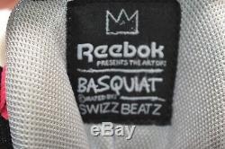 Reebok Pump Omni Lite Salty Basquiat Gris / Noir / Rose Néon Rare Beats Rétro Swizz