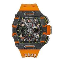 Richard Mille Rm11-03 Mclaren Orange Quartz Lmtd Et Carbon Tpt Watch Rm11-03