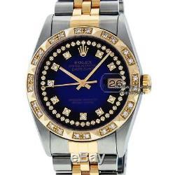 Rolex Datejust 16013 Ss & Or Jaune 18k D'occasion À Vendre