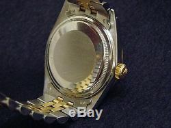 Rolex Datejust Bracelet En Jubilé De Champagne En Acier Inoxydable 18k Pour Homme, 2 Tons