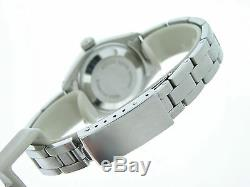 Rolex Datejust En Acier Inoxydable / 18k Montre En Or Blanc Blanc Mop Diamant