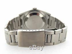Rolex Datejust Montre Oyster En Acier Inoxydable, Cadran Blanc, Lunette Bombée Pour Homme, 16 200