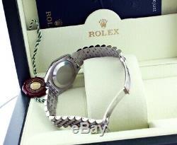Rolex Lady Datejust 178240 Acier Inoxydable 31mm Rose Avec Chiffres Romains Nouveau