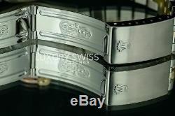 Rolex Montre Homme Datejust Deux Tons 36mm Saumon Cadran Émeraude Lunette Arc-en-ciel