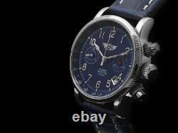 Russe Voir Poljot Chronograph 3133 Marine Limited Édition Nous