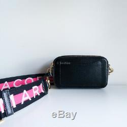 Sacoche Pour Appareil Photo Snapshot Marc Jacobs Noir Et Blanc