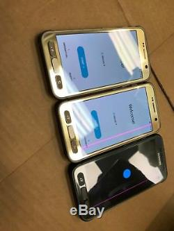 Samsung Galaxy S7 Actif Sm-g891 32go Or Vert Gris Débloqué 7/10 Ligne Rose
