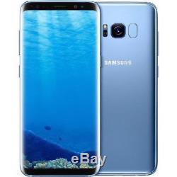 Samsung Galaxy S8 Dual Sim G950fd 64 Go Or / Bleu / Noir / Gris / Rose Débloqué