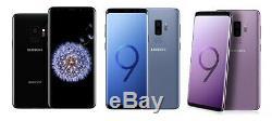 Samsung Galaxy S9 Sm-g960f 64 Go Noir / Bleu / Rose / Or / Gris Unlocked 2y Waranty Uk